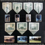 9/11 Prediction US dollar Origami