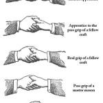 Freemason Secret Handshakes