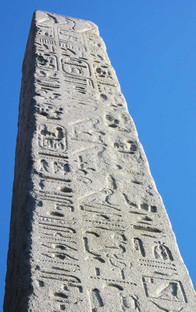 Hieroglyph inscriptions