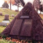 Grave of Jehovah's Witnesses Founder Charles Taze Russell Pyramid