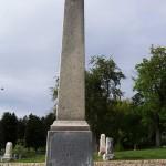 Grave of Mormon Prophet John Taylor Obelisk