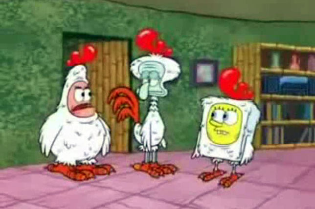SpongeBob forms the rogue Feathered Friends Lodge
