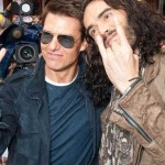 Tom Cruise and Russell Brand, Devil's Horns