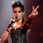 Rihanna 2008 MTV Video Music Awards, V Sign