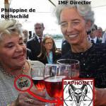 Baroness Philippine de Rothschild Baphomet