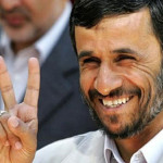 Ahmadinejad V for Victory