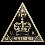 British MI5 Pyramid and All-Seeing Eye