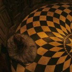 Alice in Wonderland Checkered Floor