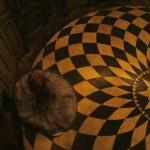 Alice in Wonderland Checkered Floor