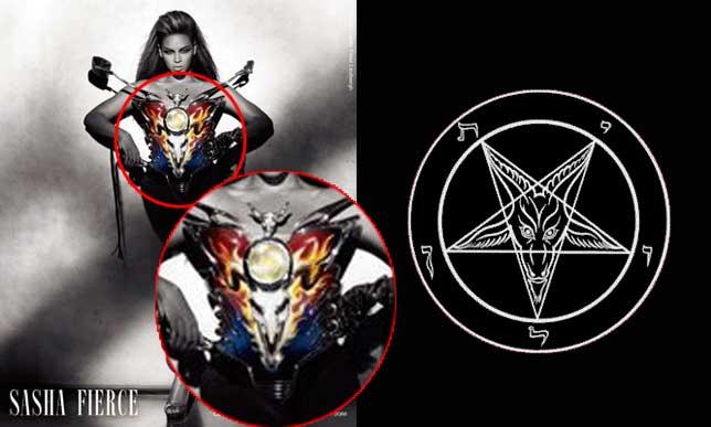 illuminati symbols beyonce baphomet