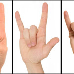 Spotting Illuminati Hand Signs: Devil's Horns vs. ILY Sign vs. Shaka Sign