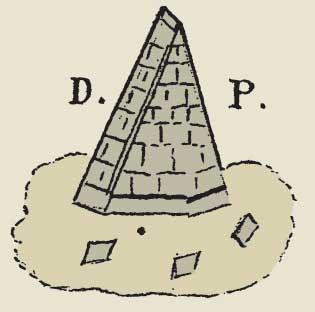 Pyramid as used by Adam Weishaupt's Bavarian Illuminati