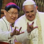 Pope Francis Devil's Horns