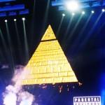 Illuminati symbolism at Miley Cyrus Bangerz Tour