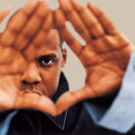Jay-Z and the Roc Sign