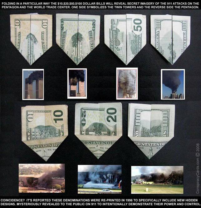 9/11 Prediction in Dollar Bills