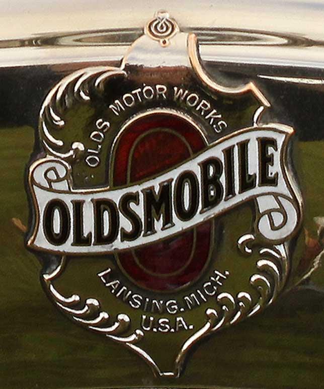 First Oldsmobile logo