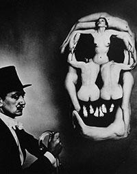 In Voluptas Mors, by Philippe Halsman + Salvador Dalí, 1951