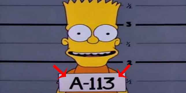 A113, The Simpsons