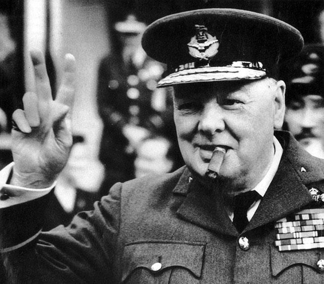 illuminati-signs-military-Winston-Churchill-v-sign