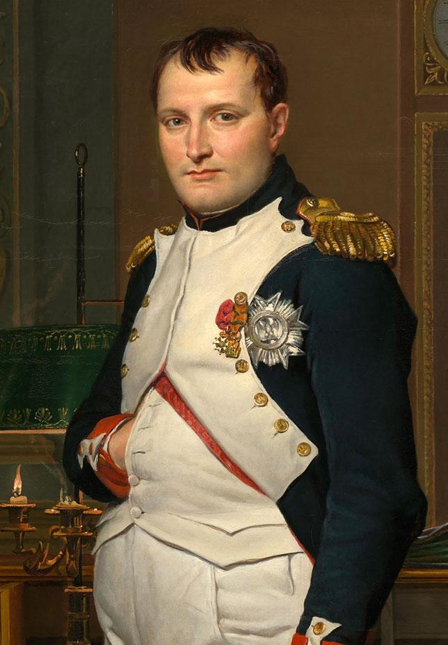 Illuminati signs Napoleon Hidden Hand