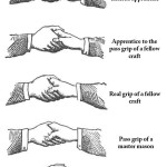 Freemason Secret Handshakes