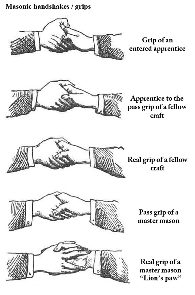 Freemason Secret Handshakes Illuminati Symbols