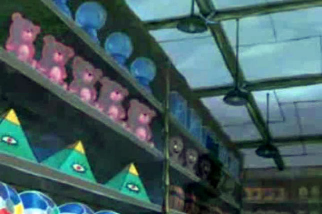 Illuminati symbols SpongeBob SquarePants Eye on pyramid