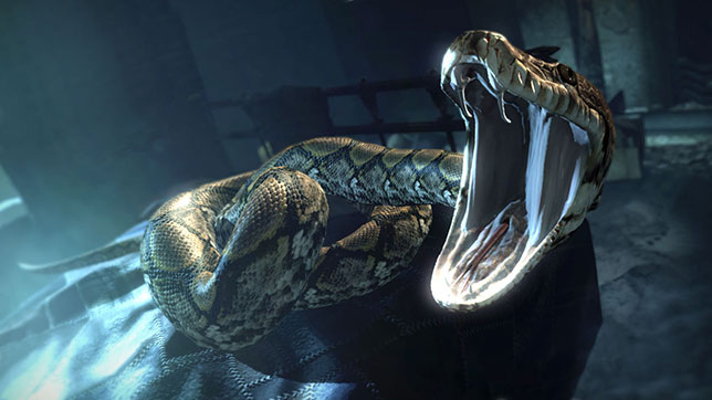 Voldemort's friendly pet snake Nagini