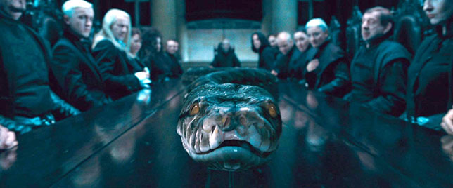 Illuminati symbols harry potter giant snake Nagini