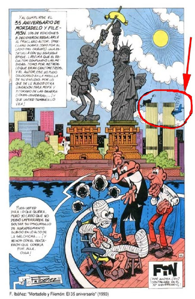 Mortadelo Y Filemon 9 11 Prediction Illuminati Symbols