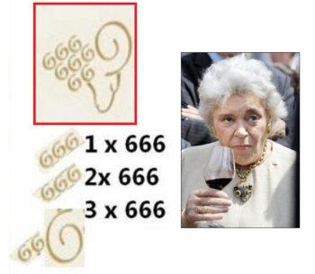 chateau mouton rothschild label 666