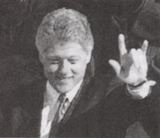 clinton-devils-horns