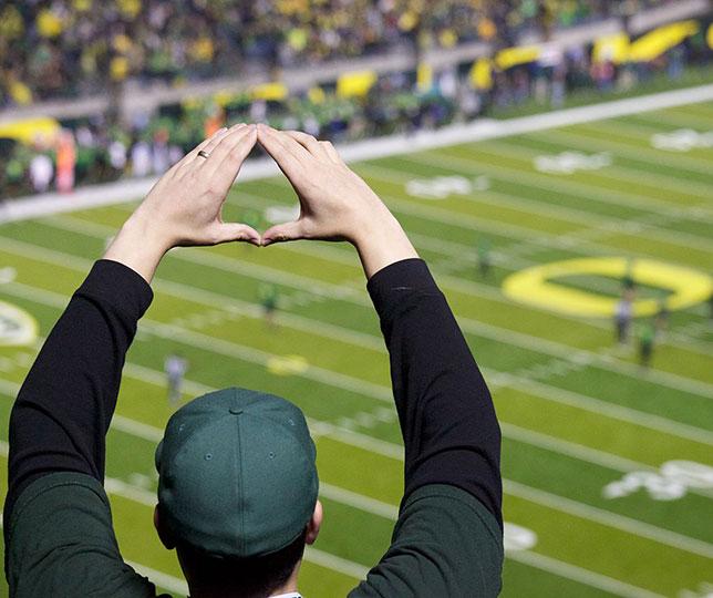 illuminati sign Oregon University O