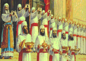 Image result for ancient Israelitepriests blessing upon the people gif