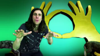 illuminati signs 3OH3 My First Kiss Pyramid Sign
