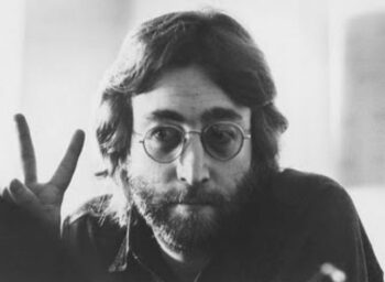 illuminati signs John Lennon Peace Sign