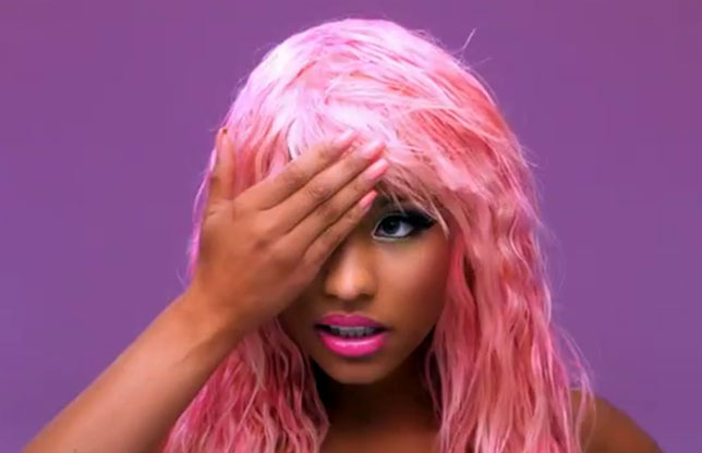 illuminati signs celebrities Nicki Minaj hidden eye