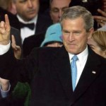 George W. Bush Devil's Horns