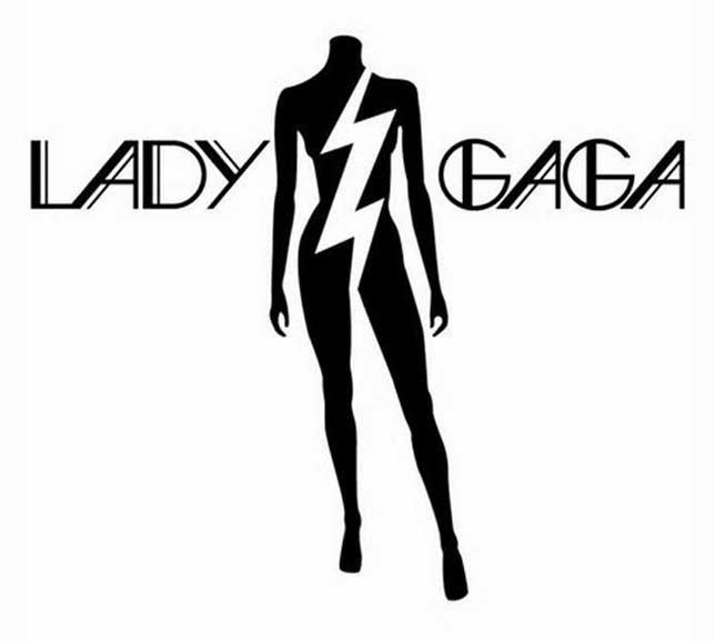 Lady Gaga Logo Lightning Bolt Illuminati Symbols