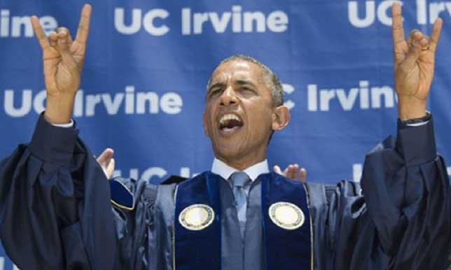 illuminati signs obama devils horns irvine
