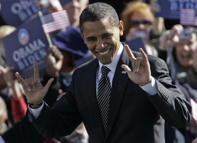 illuminati signs obama double devils horns