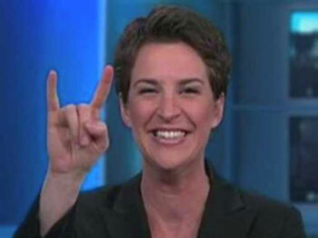 illuminati signs rachel maddow Devils horns