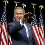 George W. Bush Nazi Salute