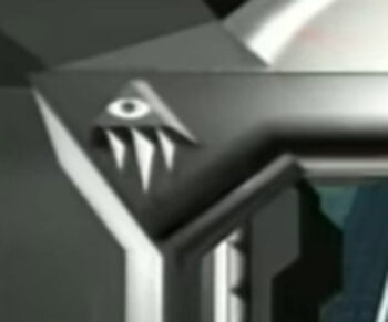 illuminati symbol Eminem White America All Seeing Eye Pyramid closeup