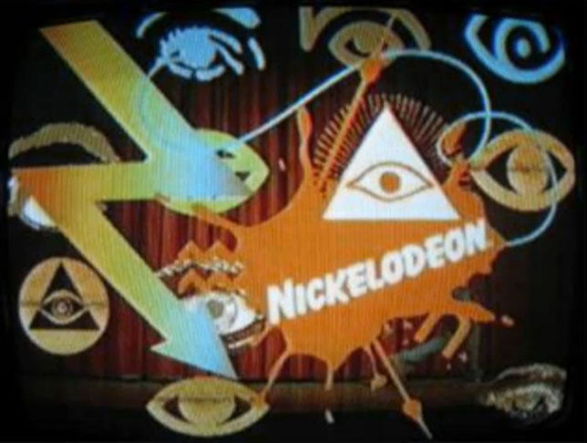 Nickelodeon All Seeing Eye Pyramid Illuminati Symbols