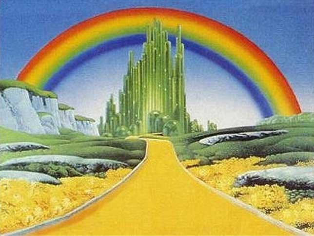 Rainbow Illuminati Symbols