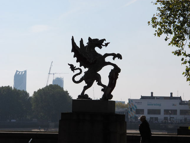 illuminati symbols City of London Dragons