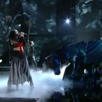 Katy Perry – Dark Horse of the Apocalypse at Grammy Awards