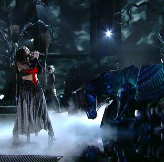 illuminati symbols Katy Perry Dark Horse Grammy Award horse Apocalypse